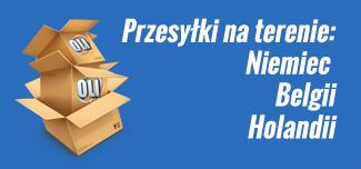 Przewóz paczek Polska Holandia Belgia Niemcy